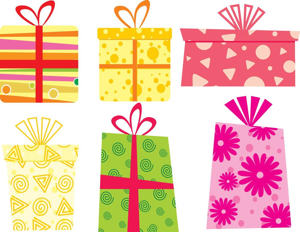 Vector Illustration Of Gift