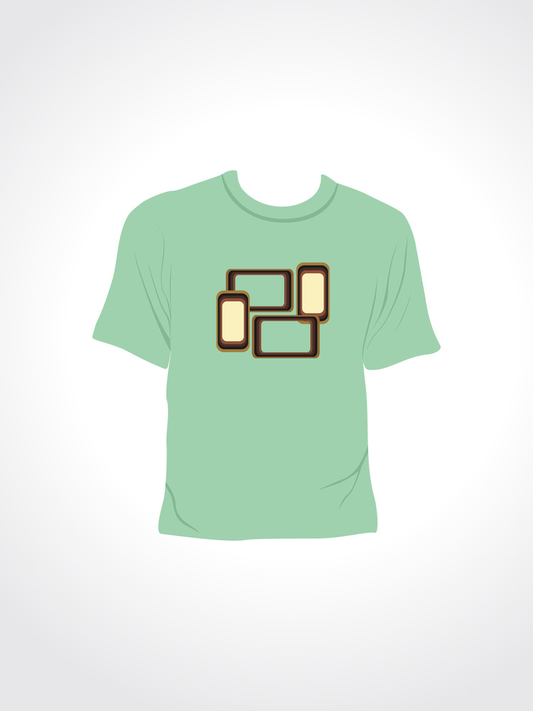 Vector Illustration Of Isolated Tshirt