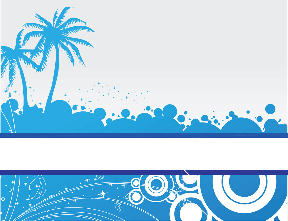 Vector Illustration Of Palm Tree