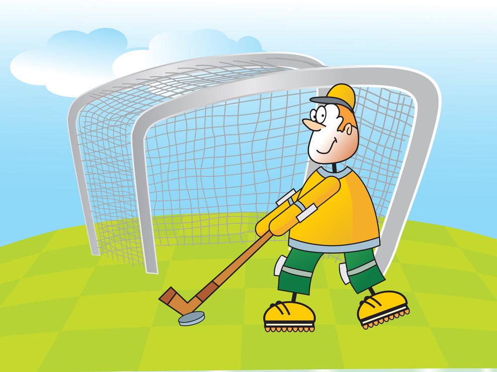 Vector Illustration Of Sport Background