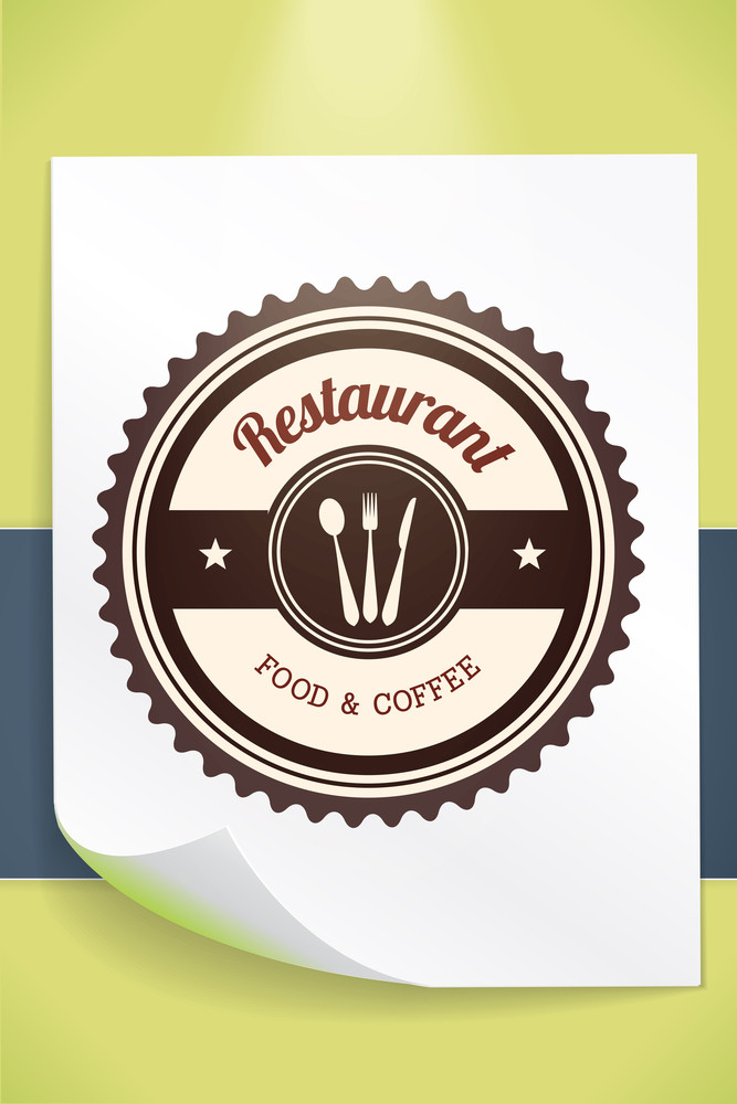Vector Illustration With Badge And Decorations (editable Text)