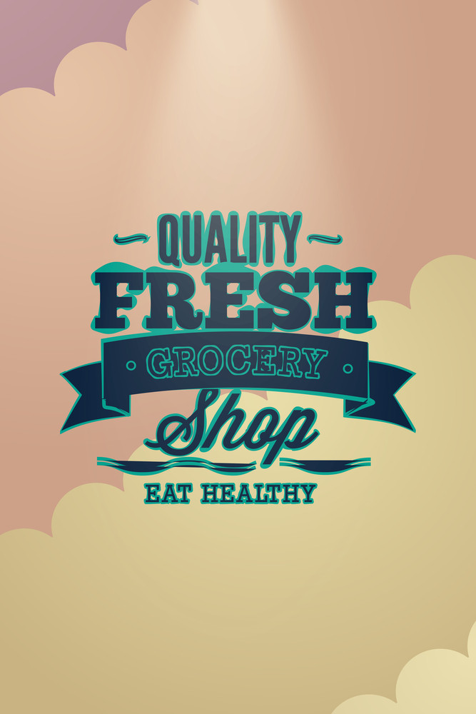 Vector Illustration With Typography And Decorations (editable Text)