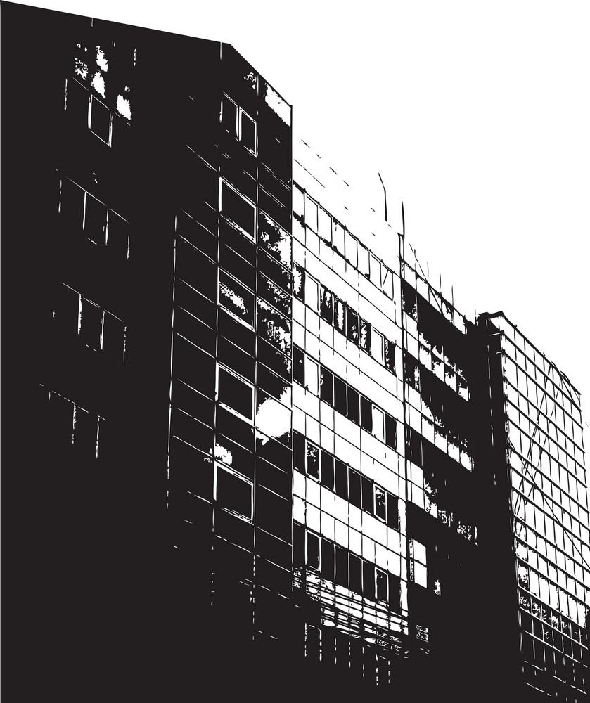 Vector Industrial Building