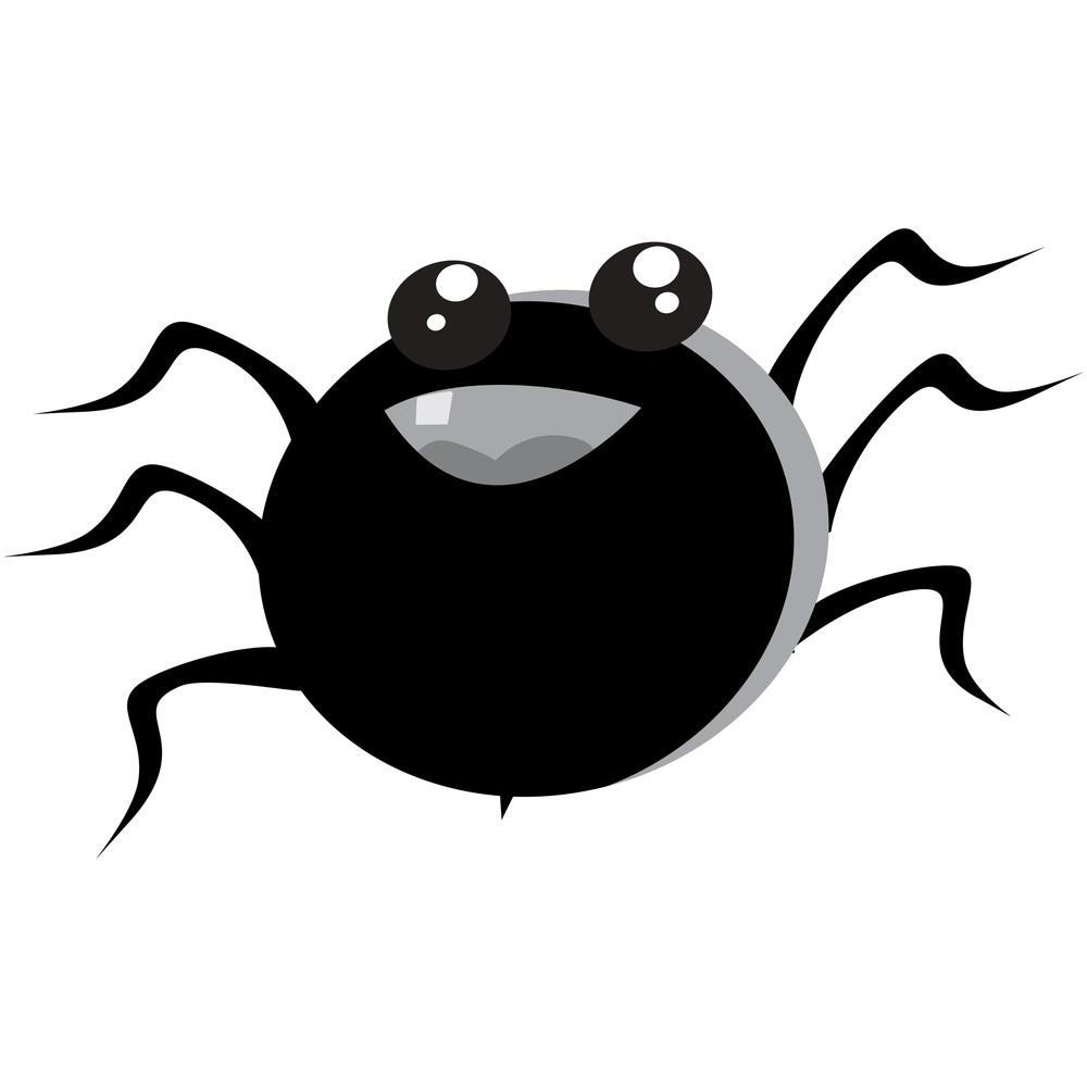 Vector Isolated Halloween Insect