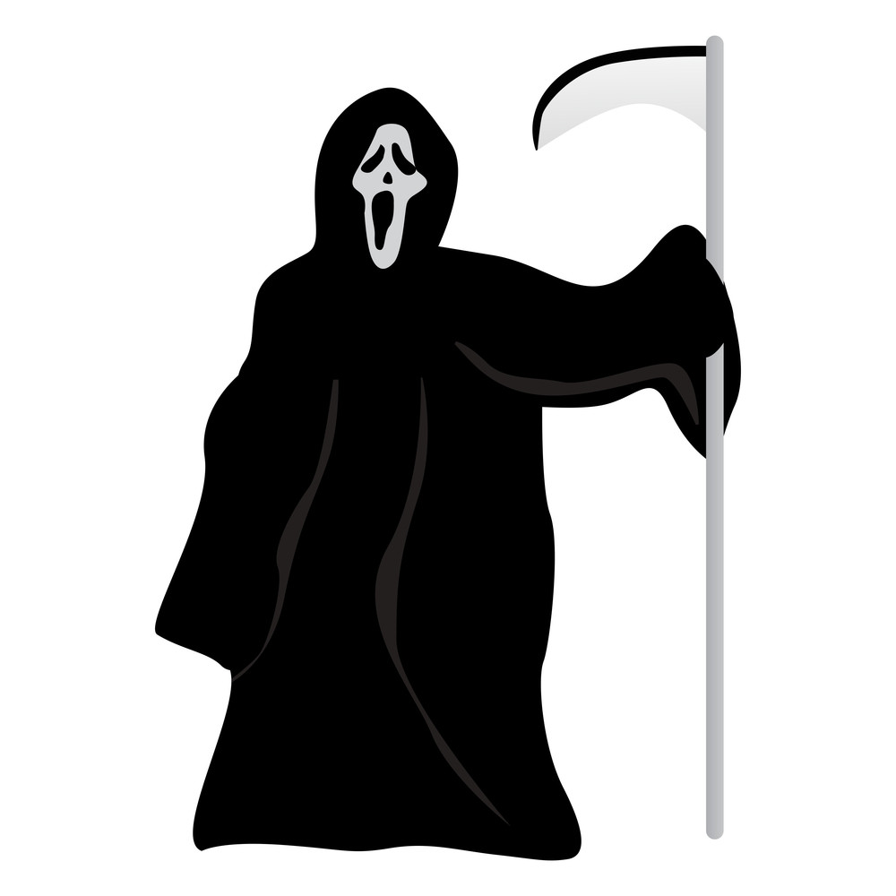 Vector Isolated Halloween Witch