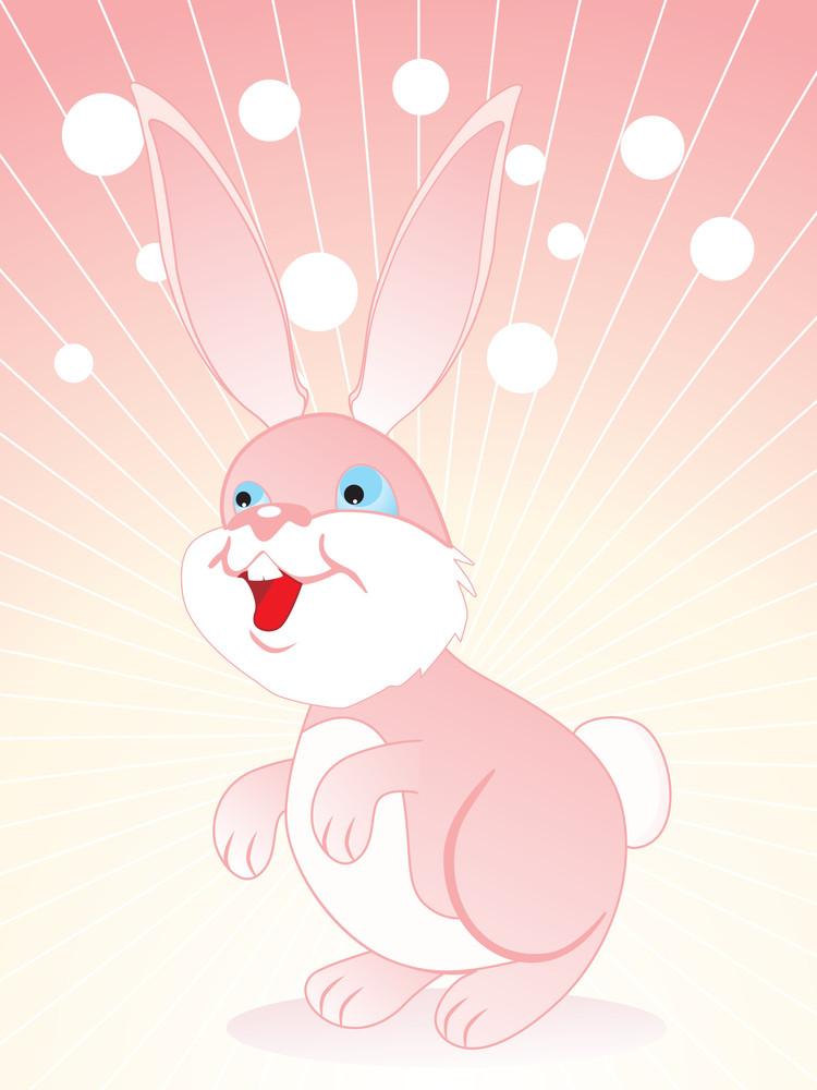 Vector Isolated Rabbit