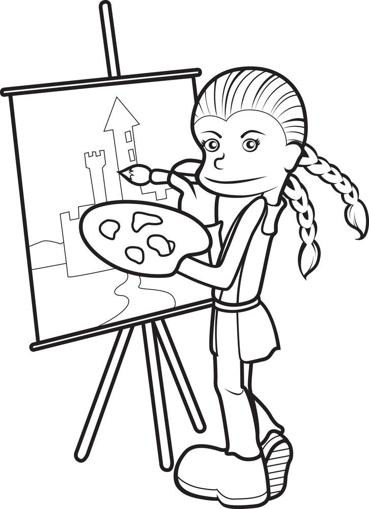 Vector Kid Illustration