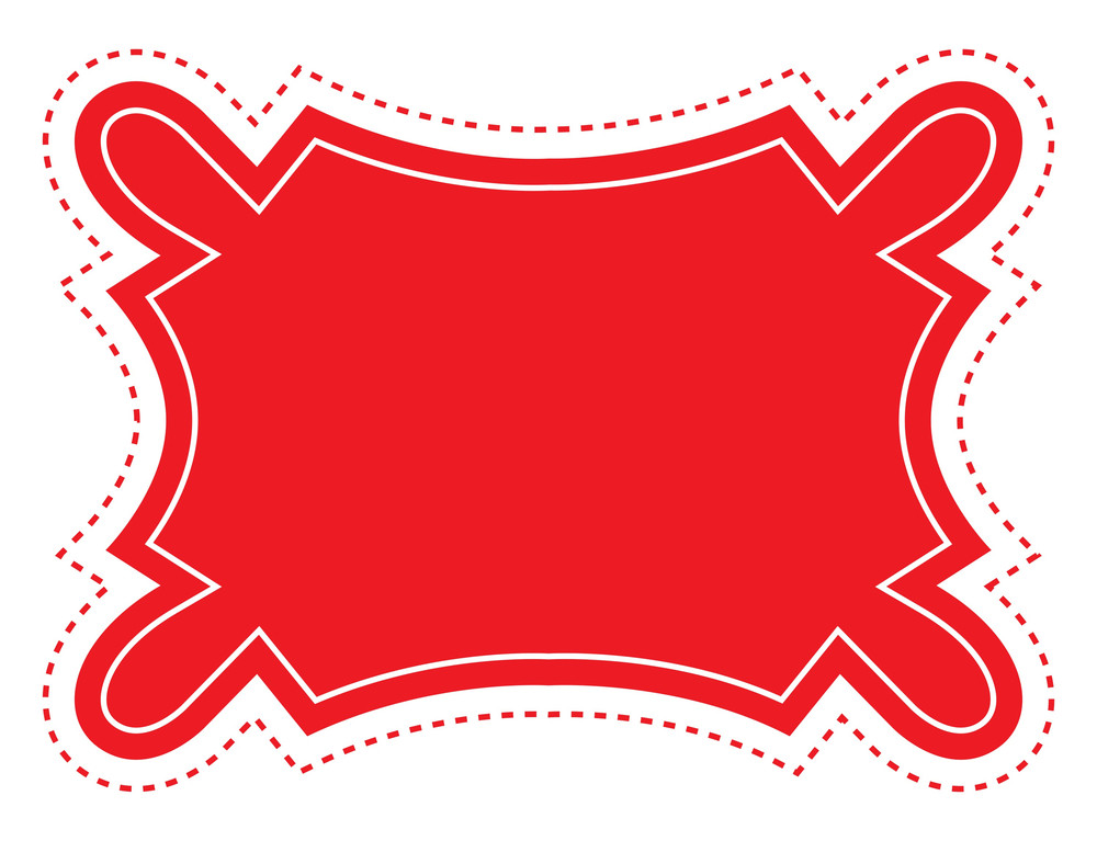 Vector Label Banner