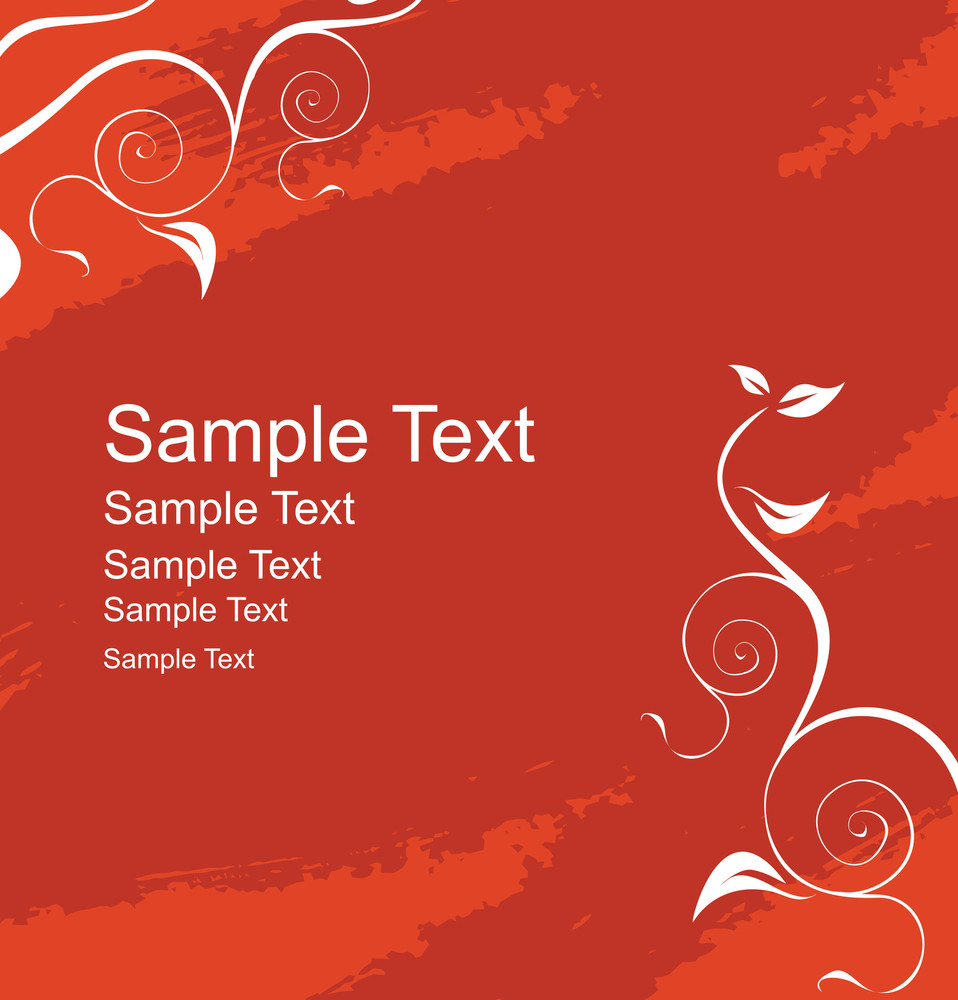 Vector Label For Sample Text