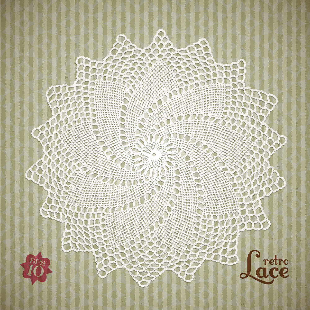 Vector Lace Frame
