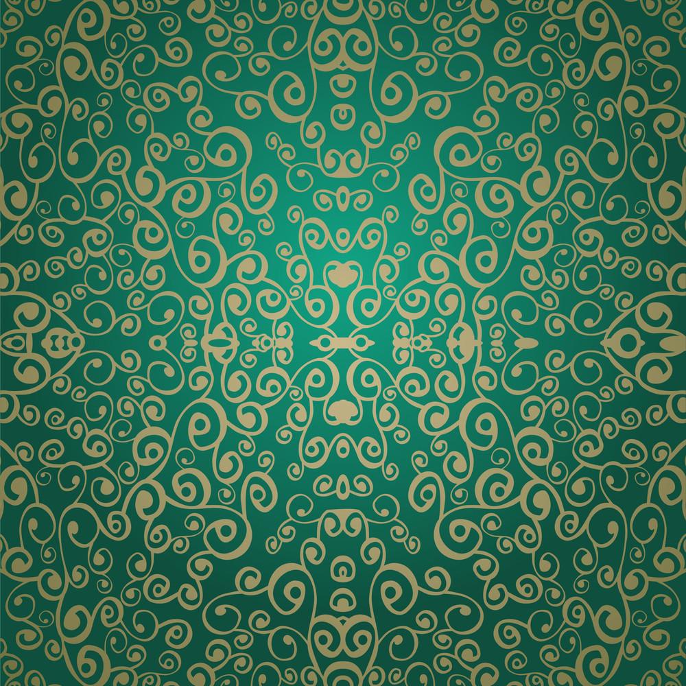 Vector Leaf Pattern