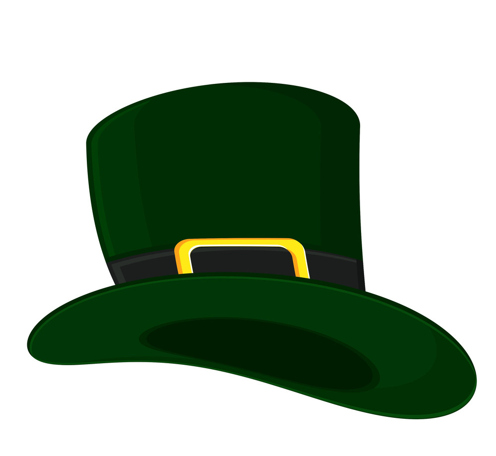 Vector Leprechaun Hat