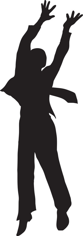 Vector Man Silhouette