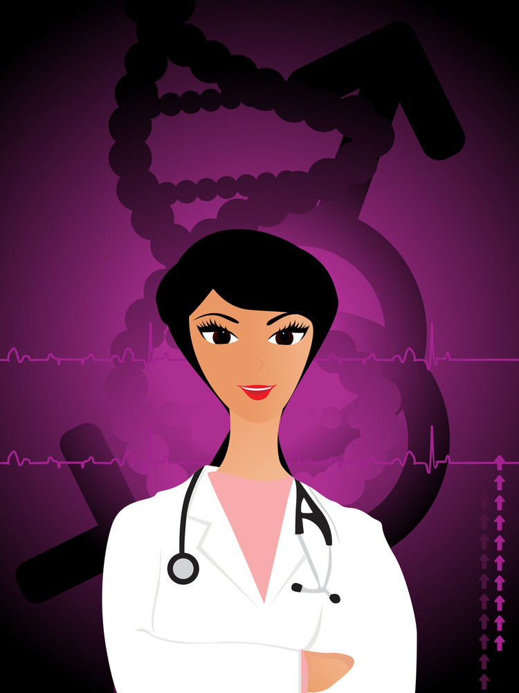 Vector Medical Background