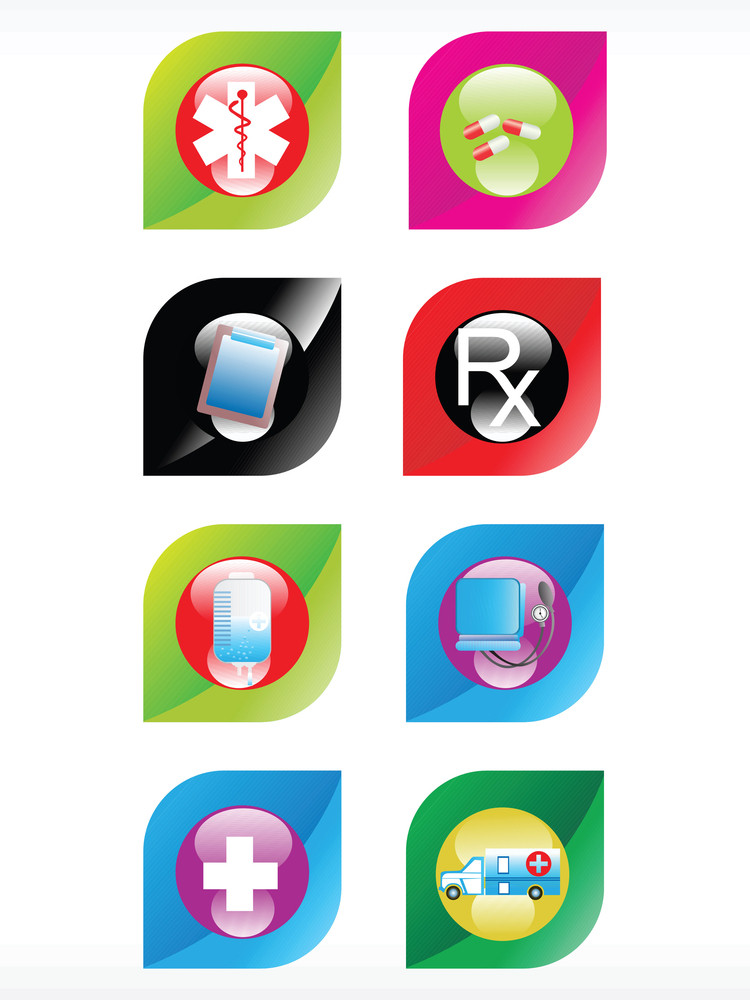 Vector Medical Icon Series Web 2.0 Style Set_14