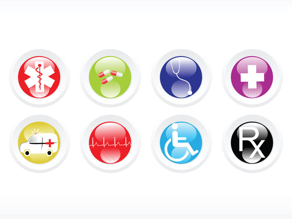 Vector Medical Icon Series Web 2.0 Style Set_3