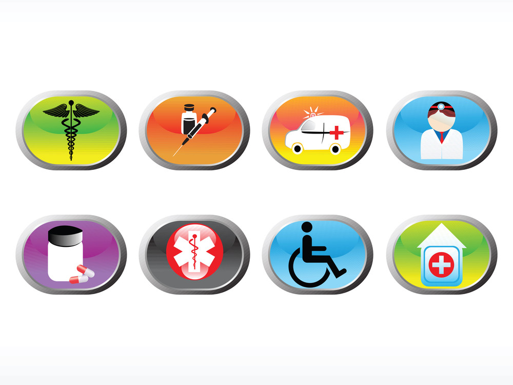Vector Medical Icon Series Web 2.0 Style Set_4