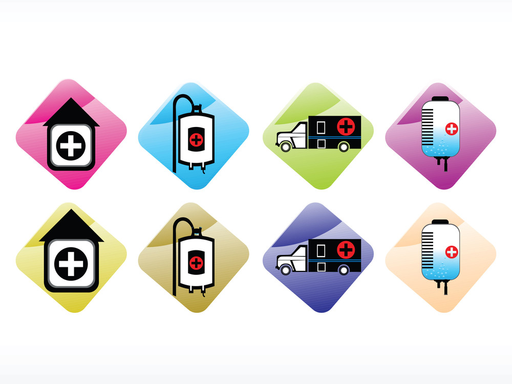Vector Medical Icon Series Web 2.0 Style Set_8