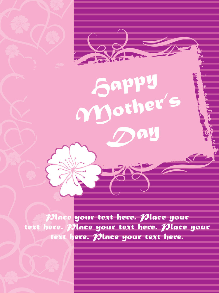 Vector Mother Day Gretting