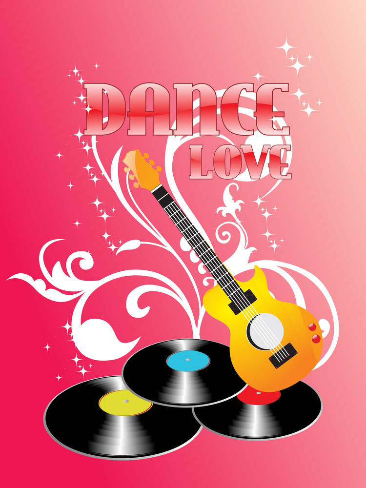 Vector Musical Background Illustration