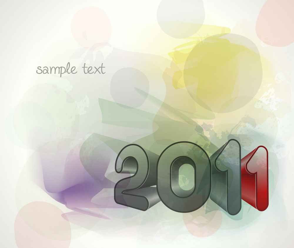 Vector New Year Background