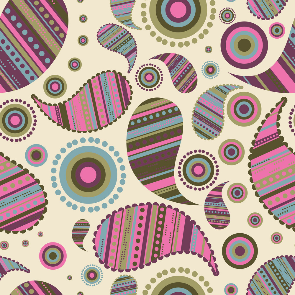Vector Paisley Pattern
