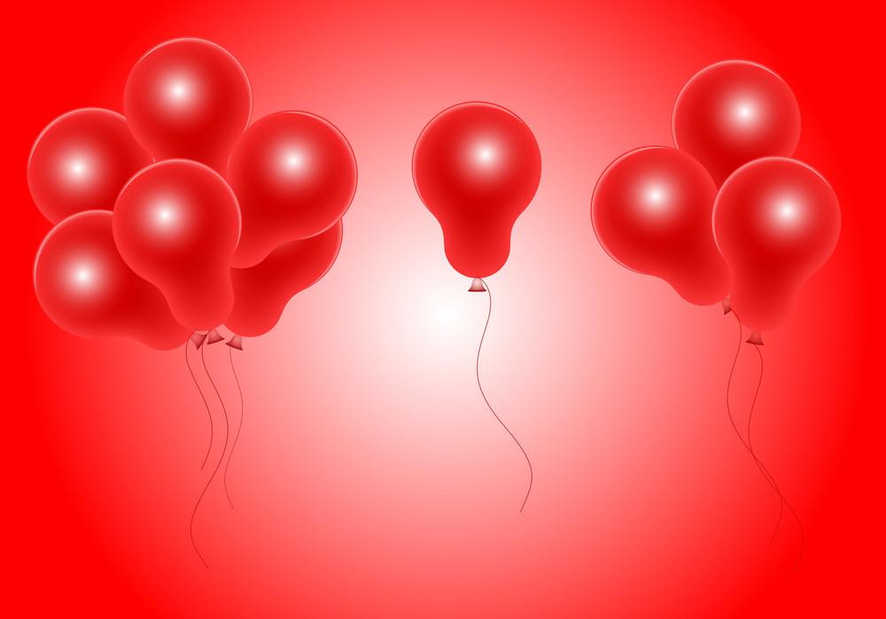 Vector Party Balloons