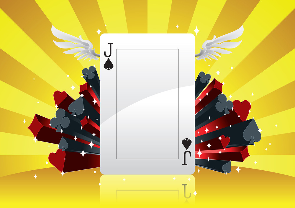 Vector Poker Background
