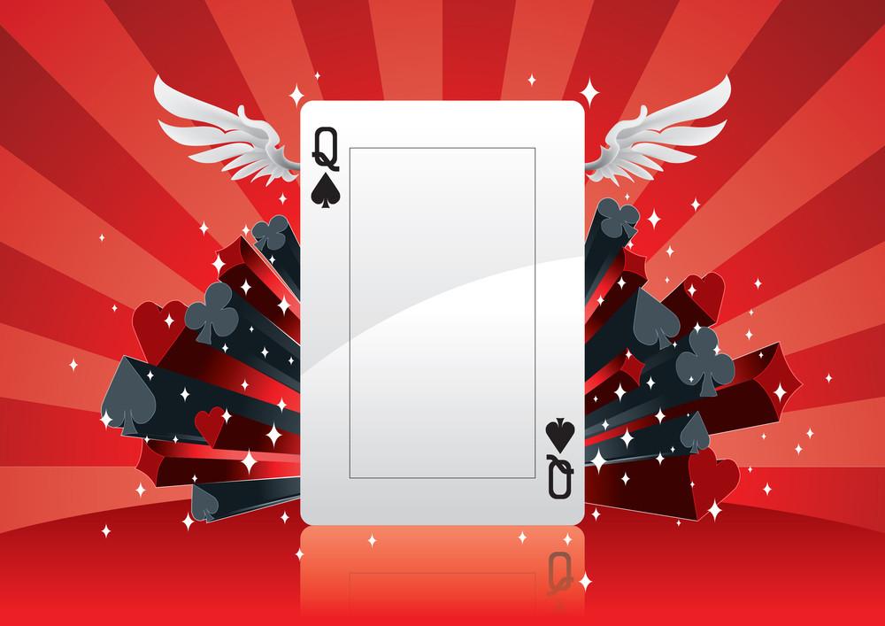 Vector Poker Background
