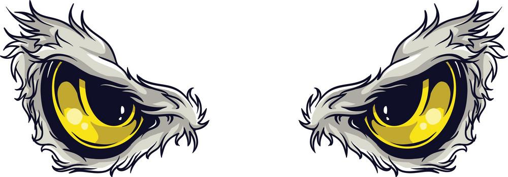 Vector Predator Eyes