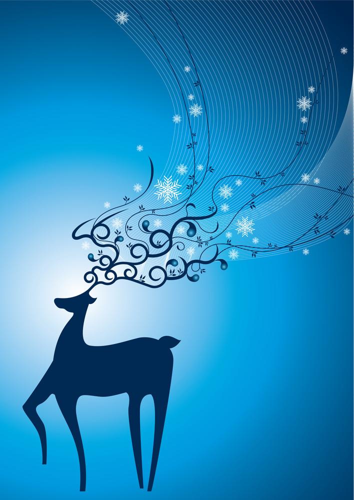 Vector Reindeer
