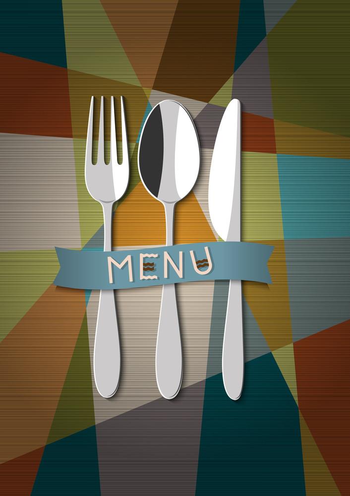 Vector Restaurant Card Menu Design