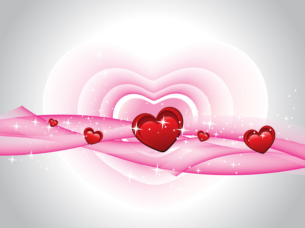 Vector Romantic Background Wallpaper