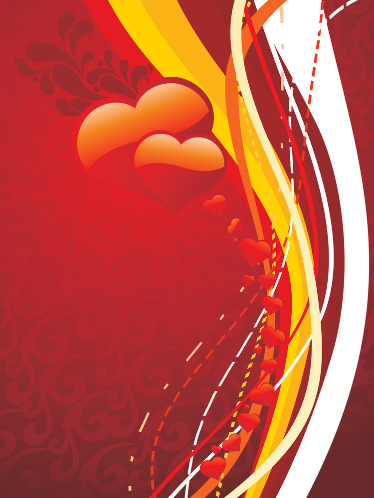 Vector Romantic Background