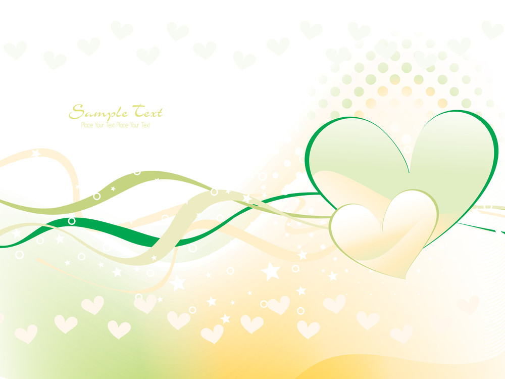 Vector Romantic Wallpaper