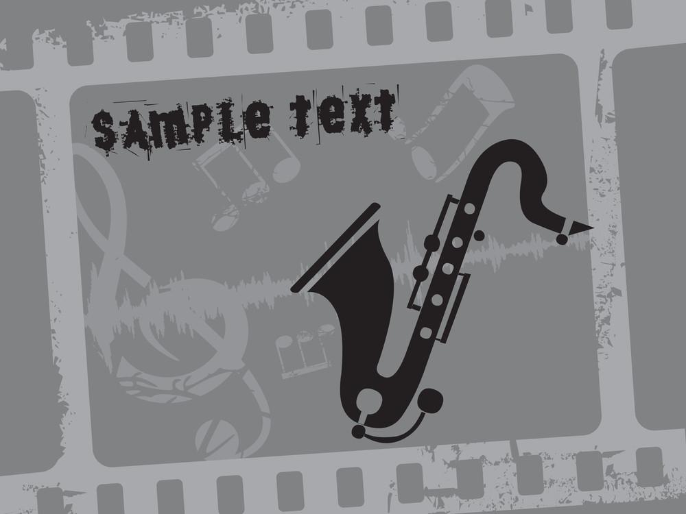 Vector Saxophone Illustration