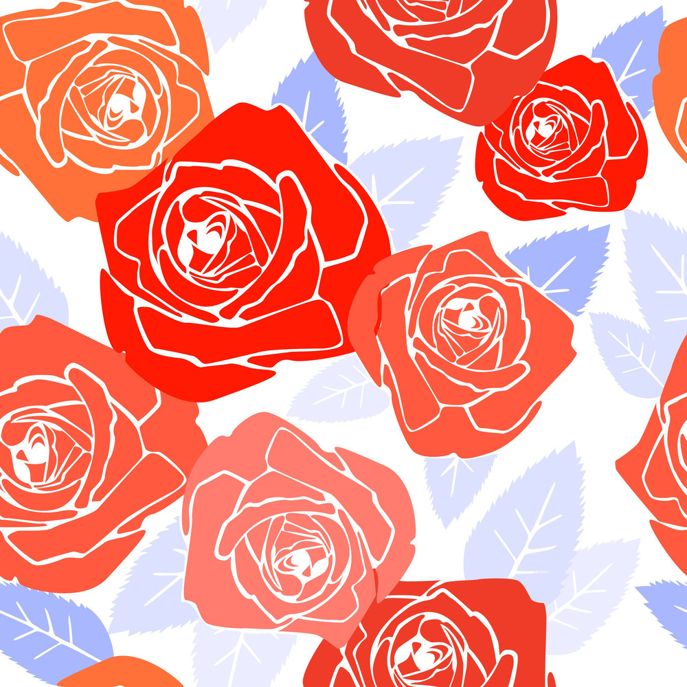 Vector Seamless Floral