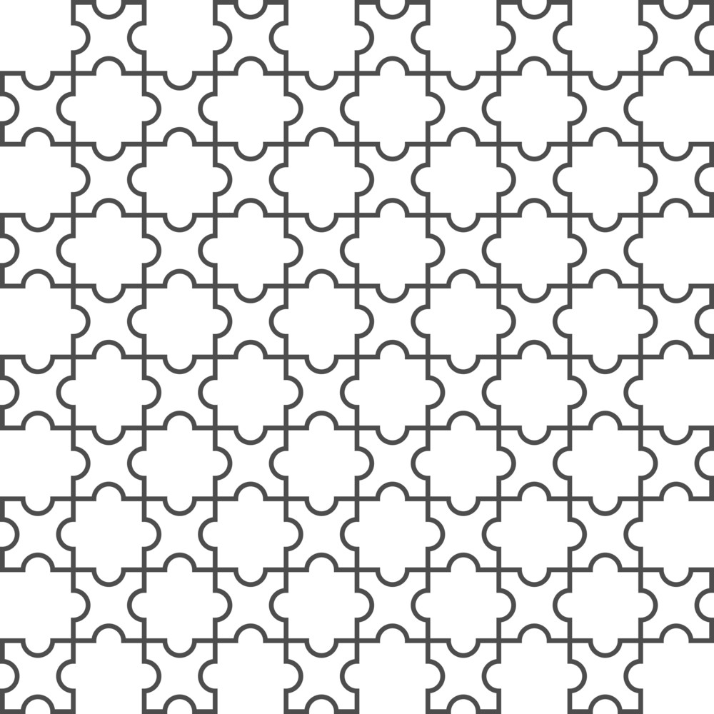 Vector Seamless Pattern In Islamic Style