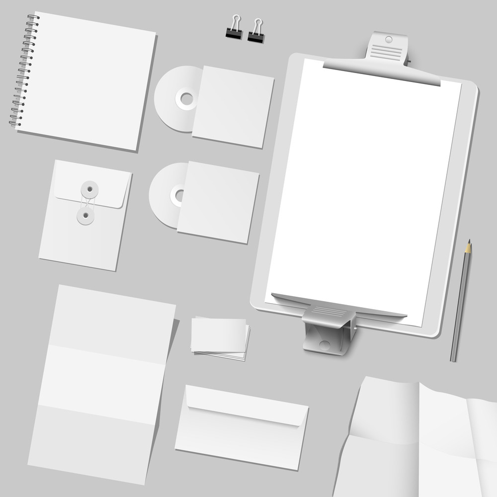 Vector Set Of Corporate Template Design