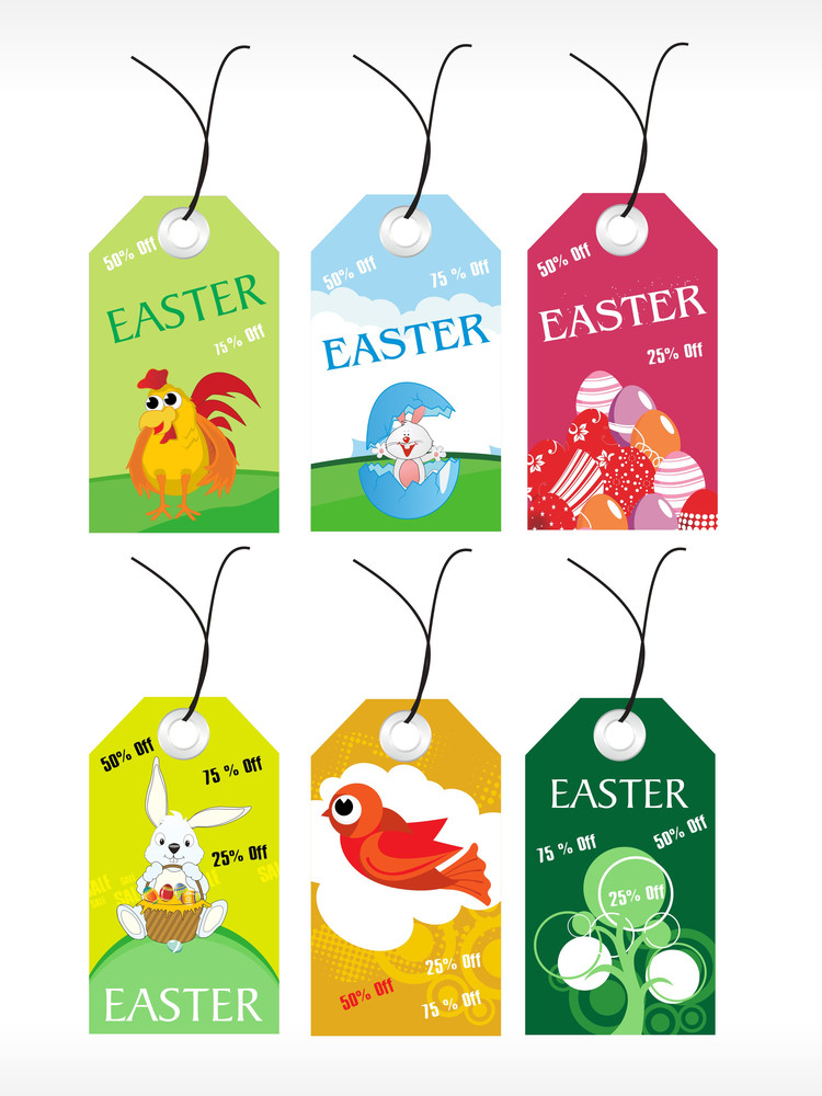 Vector Set Of Sale Tag