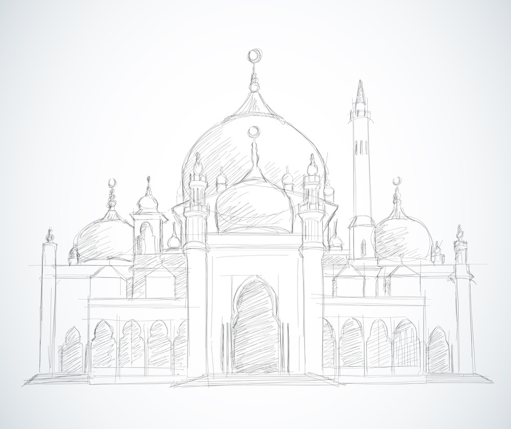 Vector Sketched Mosque