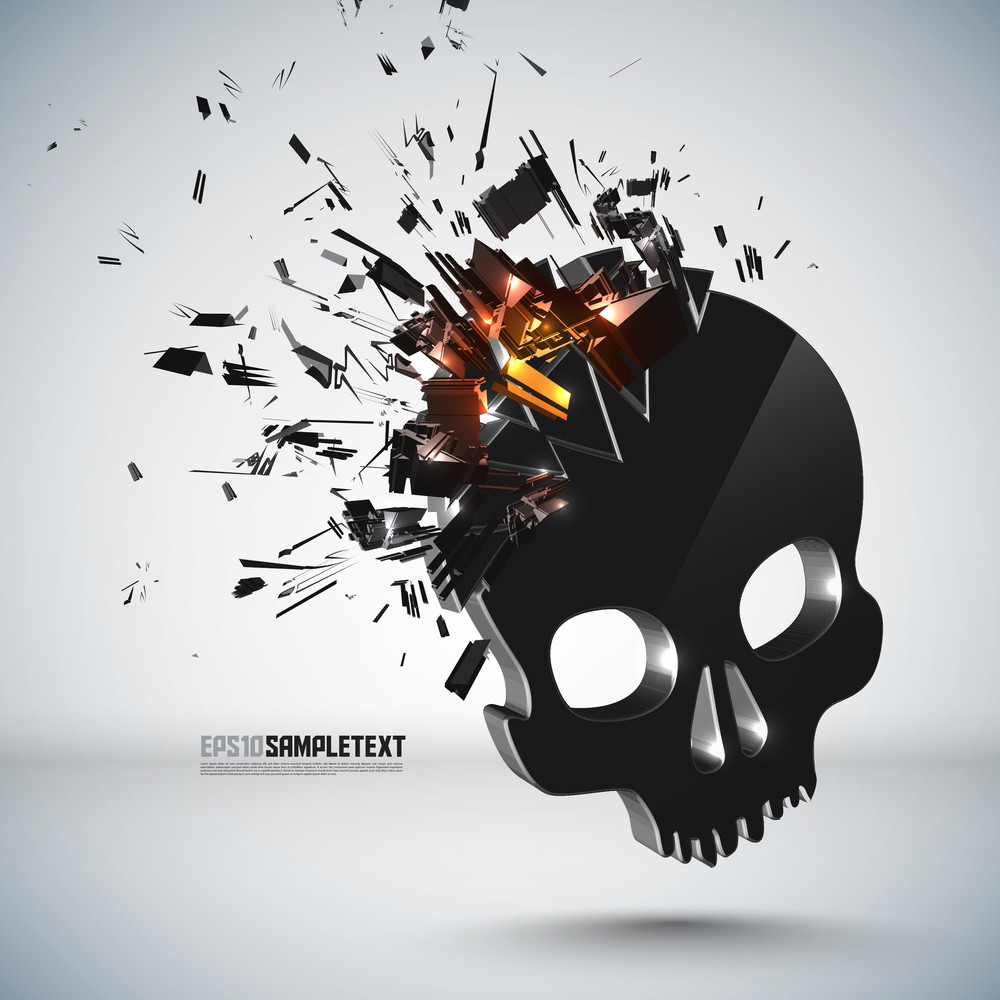 Vector Skull Crushing