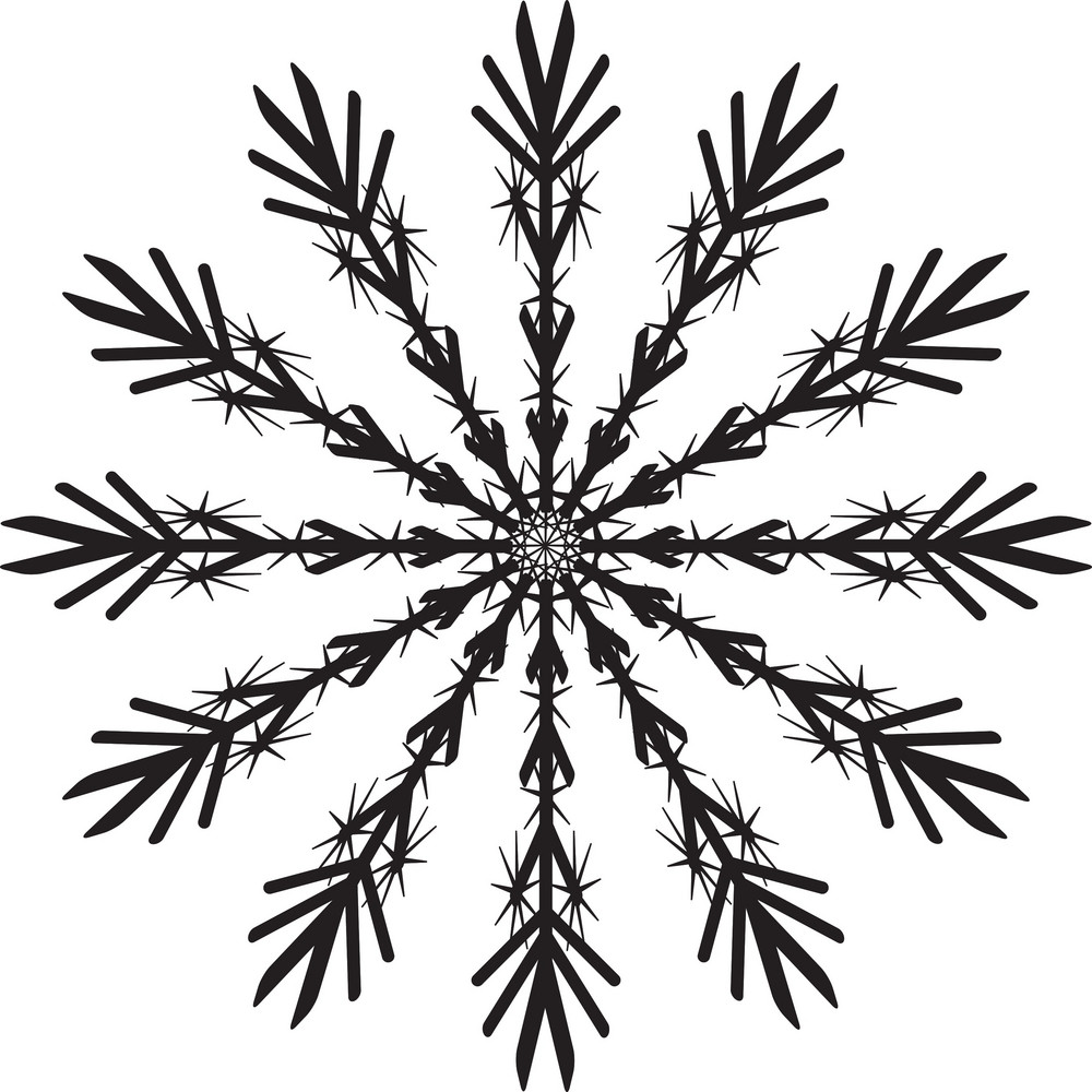 vector snowflake royalty free stock image storyblocks