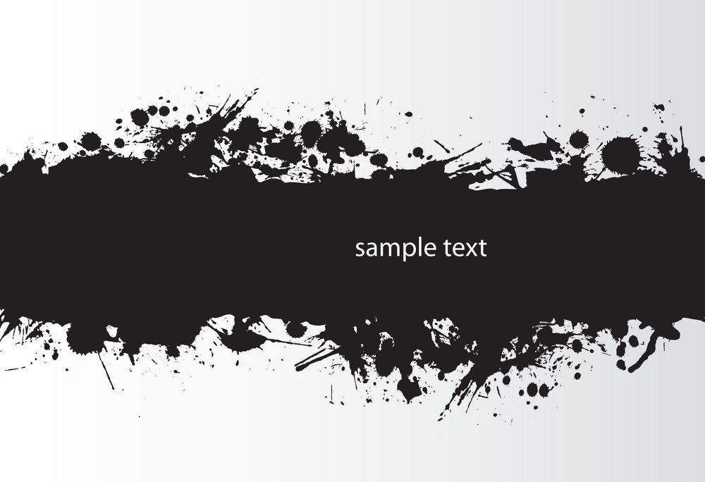 Vector Splash Background With Space For Text