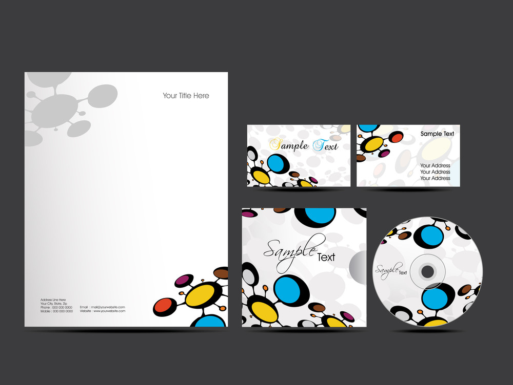 Vector Style Identity Kit  For Your Business.