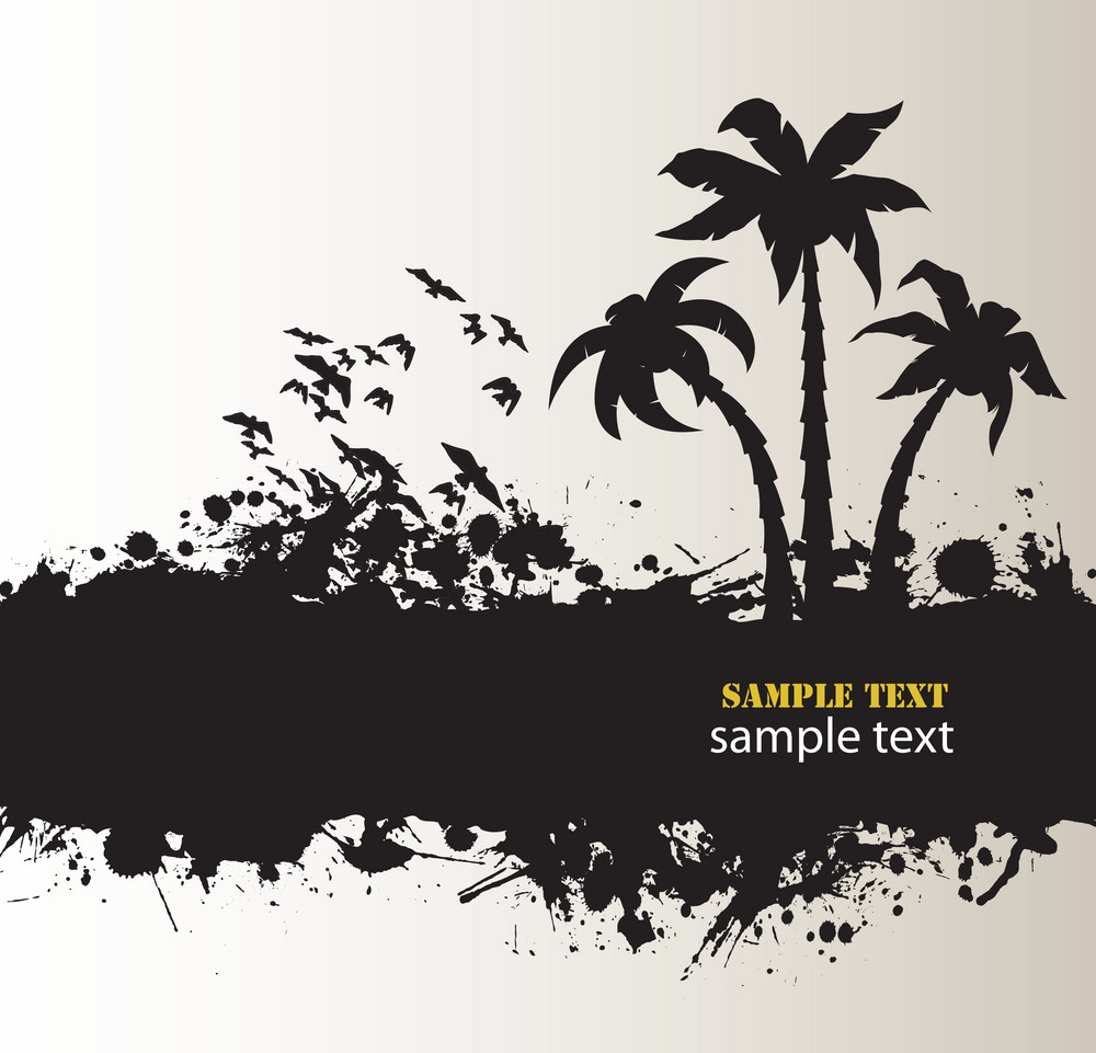 Vector Summer Grunge Background