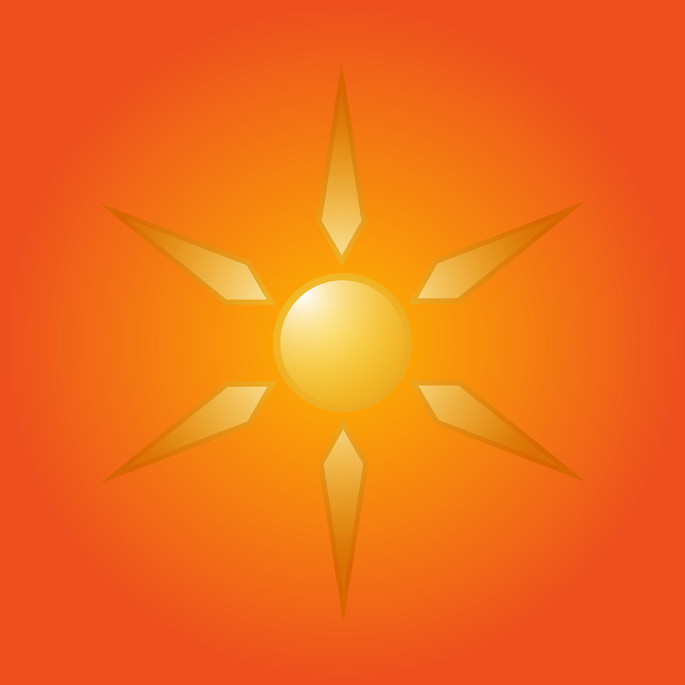 Vector Sun Design