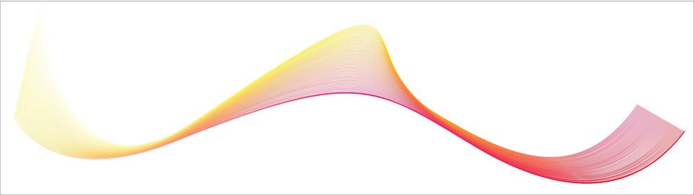 Vector Swirl Wave Lines