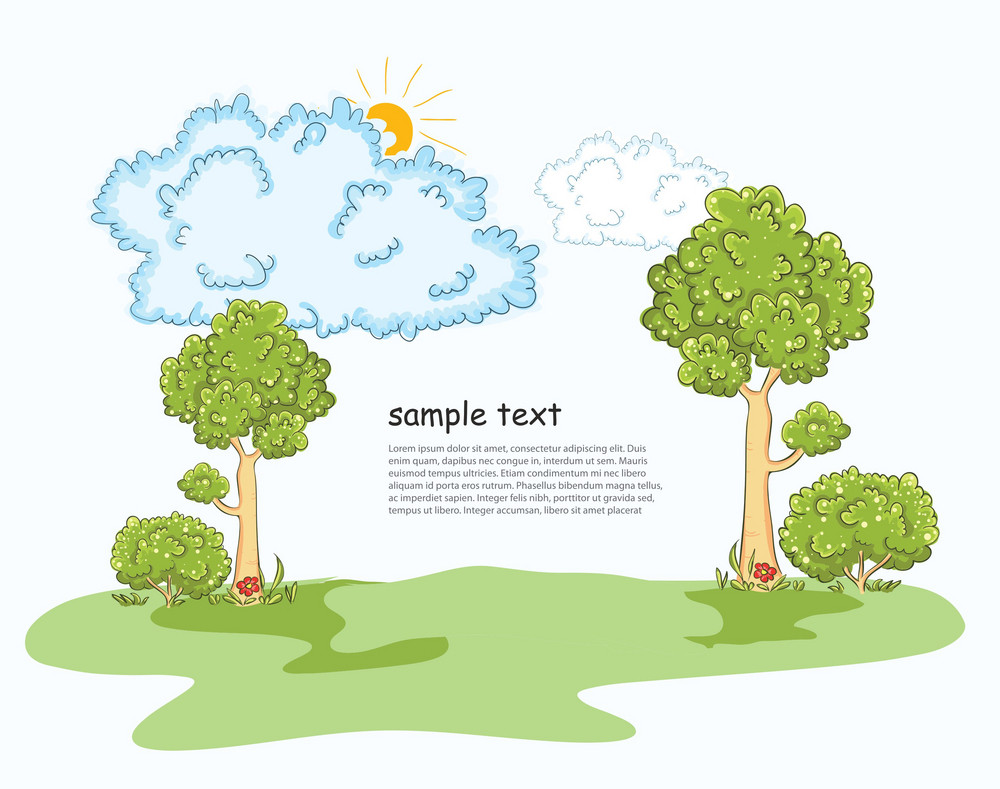 Vector Trees With Clouds