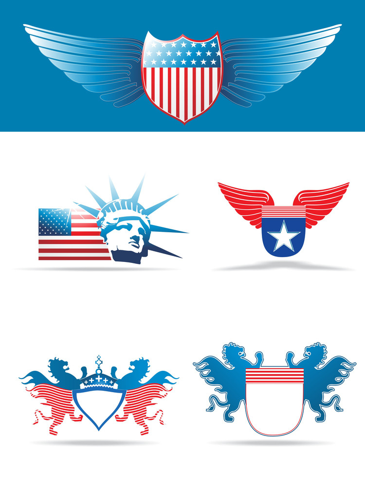 Vector Us Background